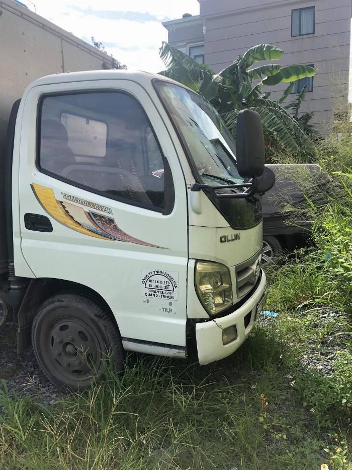 Xe tải 1,6T Thaco Ollin 198 sản xuất 2013, màu trắng thùng kín. 3