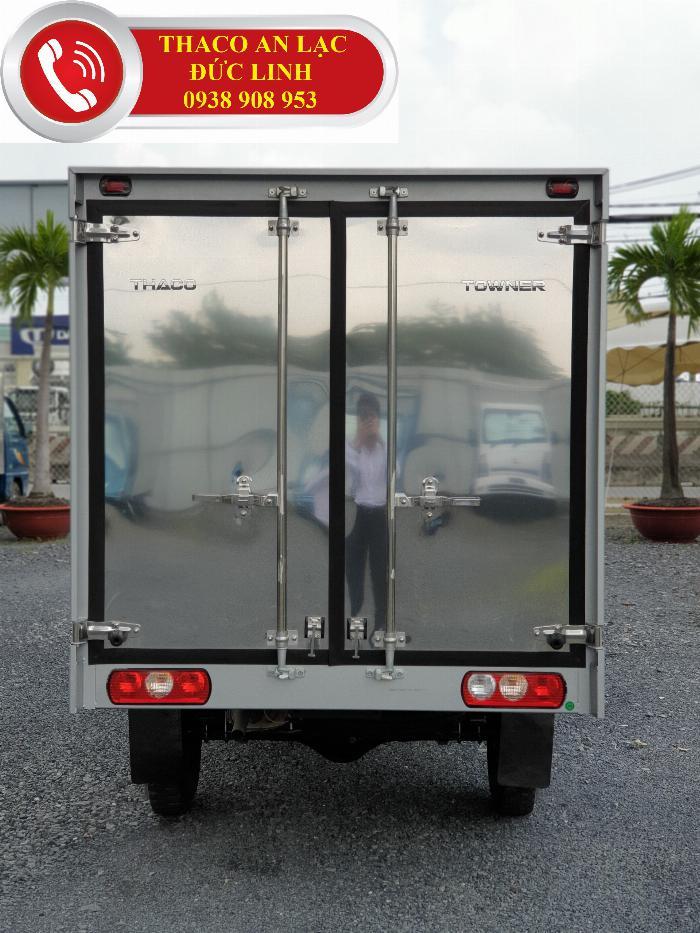 Xe tải TOWNER 990 kg, nhỏ gọn. Khuyễn mãi 100% lệ phí trước bạ 5