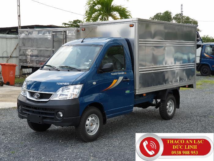 Xe tải TOWNER 990 kg, nhỏ gọn. Khuyễn mãi 100% lệ phí trước bạ 3