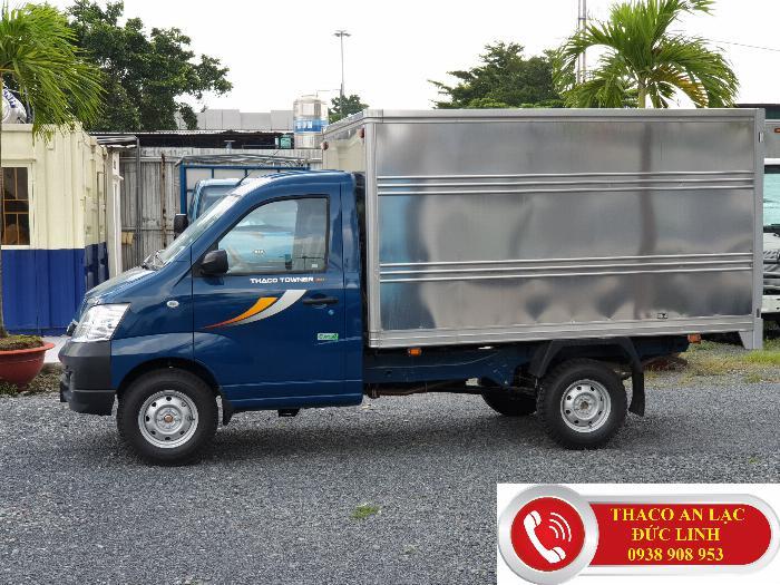 Xe tải TOWNER 990 kg, nhỏ gọn. Khuyễn mãi 100% lệ phí trước bạ