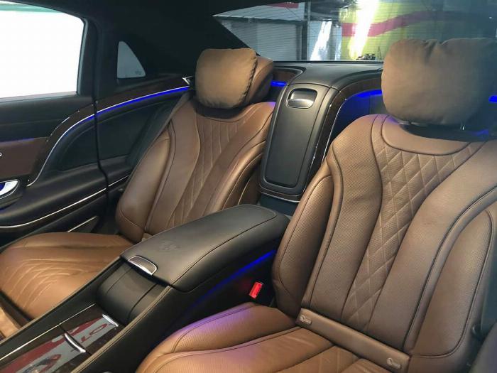 GIAO NGAY Mercedes Benz S400L Model 2018 độ Maybachs600