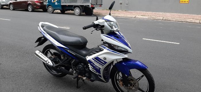 Yamaha Exciter 135 đk 2014, xanh GP, Bstp chính chủ 1