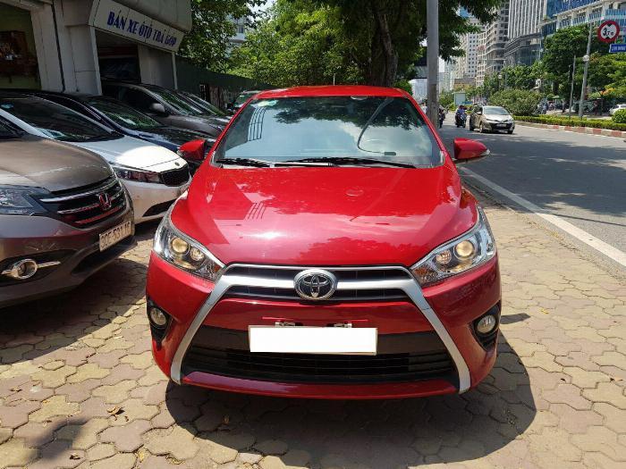 GIAO NGAY  Toyota Yaris 1.5G 2017 Giá Tốt Uy Tín