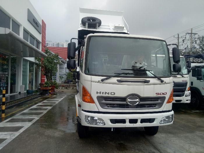 Xe Ben Hino 6 Tấn  đời mới Thùng ben 4.05 m3 - Hỗ Trợ Vay Lên Đến 85% Giá Trị Xe.