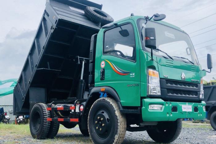 Ben Howo 6,5 tấn thùng 5,1 khối đời 2019 | Hỗ trợ vay vốn 70% giá trị của xe 0