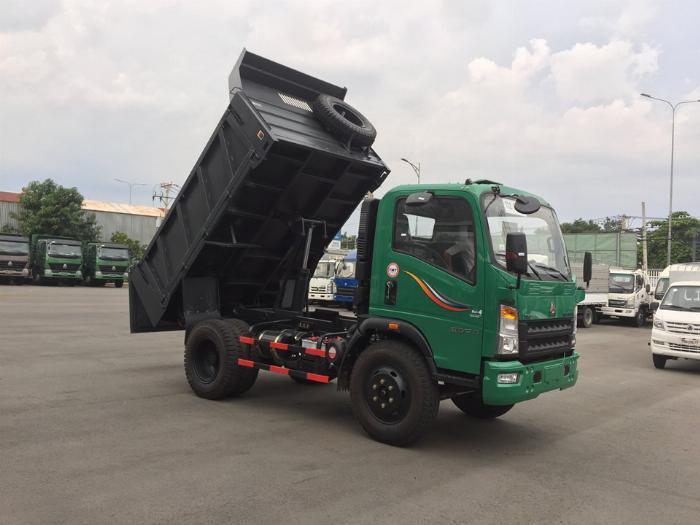 Ben Howo 6,5 tấn thùng 5,1 khối đời 2019 | Hỗ trợ vay vốn 70% giá trị của xe 2