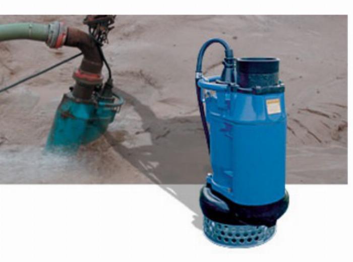 Chuyên bơm chìm nước thải hố móng Tsurumi KTZ22.2 chính hãng