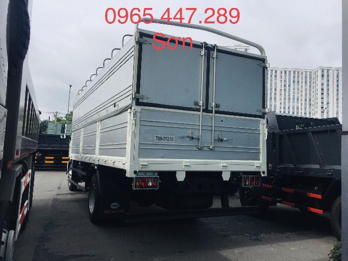 Xe tải Howo thùng dài 6,2 m giá cả ưu đãi 2