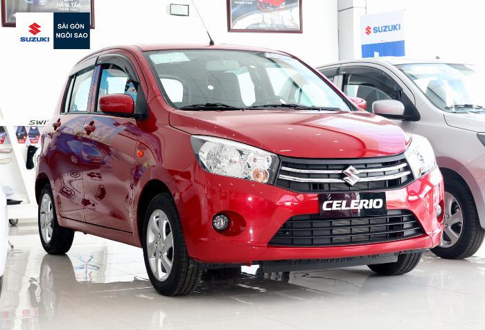 110 triệu nhận xe 5 chỗ, bán trả góp suzuki celerio 2019 2