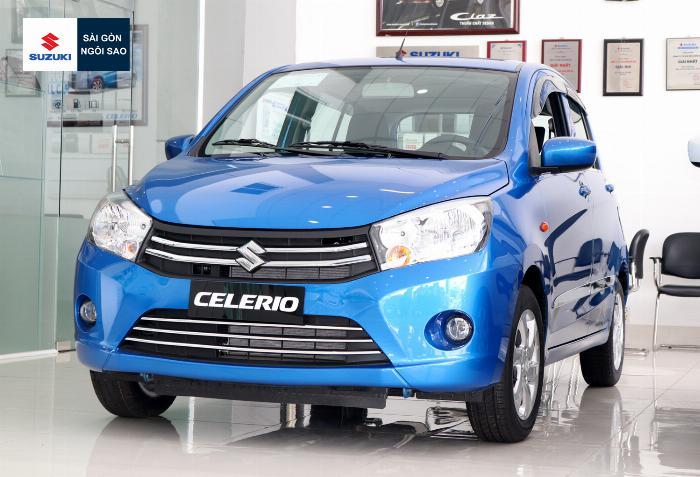 110 triệu nhận xe 5 chỗ, bán trả góp suzuki celerio 2019 5