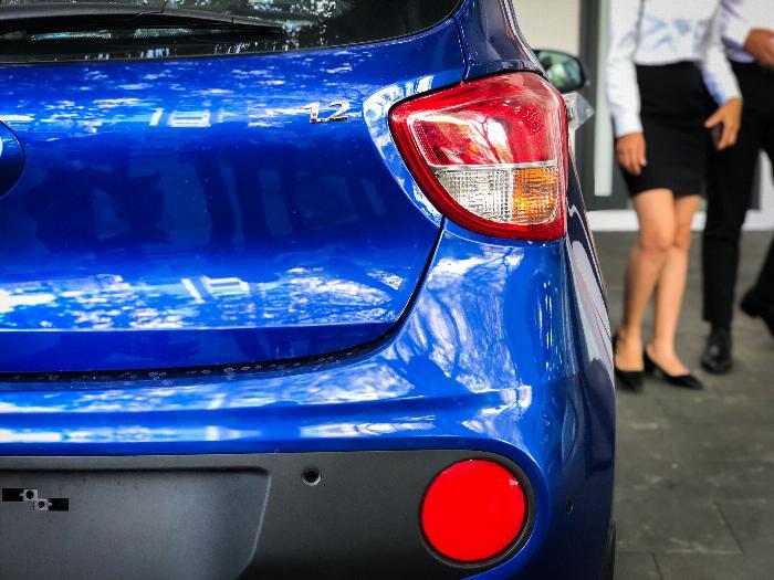 Xe i10 chạy GrabCar, Hyundai An Phú, GrabCar, Grab Car, Grab, Hyundai i10, Hyundai Accent 0