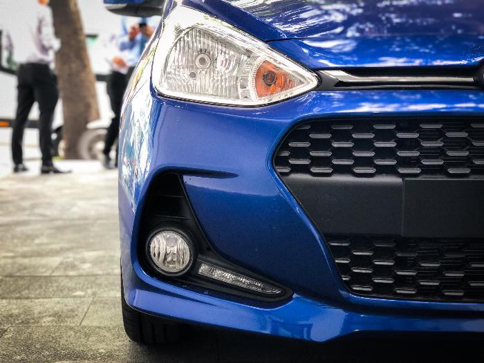 Xe i10 chạy GrabCar, Hyundai An Phú, GrabCar, Grab Car, Grab, Hyundai i10, Hyundai Accent 2