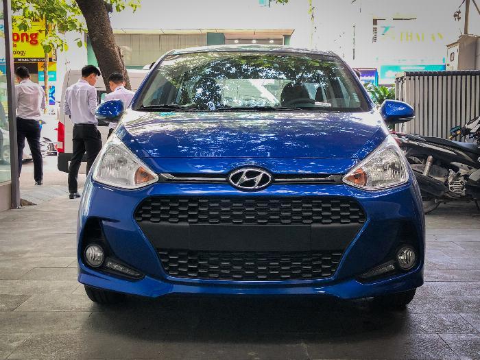 Xe i10 chạy GrabCar, Hyundai An Phú, GrabCar, Grab Car, Grab, Hyundai i10, Hyundai Accent 3