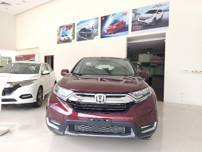 Honda Ôtô Thanh Hóa, Giao Ngay Honda CRV 1.5L, Đời 2019, Màu Đỏ, Giá Cực Sốc, LH: 0962028368 0