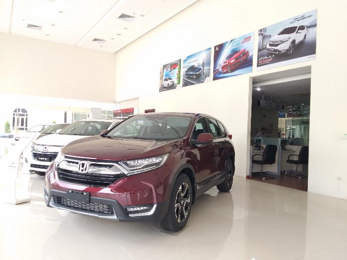 Honda Ôtô Thanh Hóa, Giao Ngay Honda CRV 1.5L, Đời 2019, Màu Đỏ, Giá Cực Sốc, LH: 0962028368 3