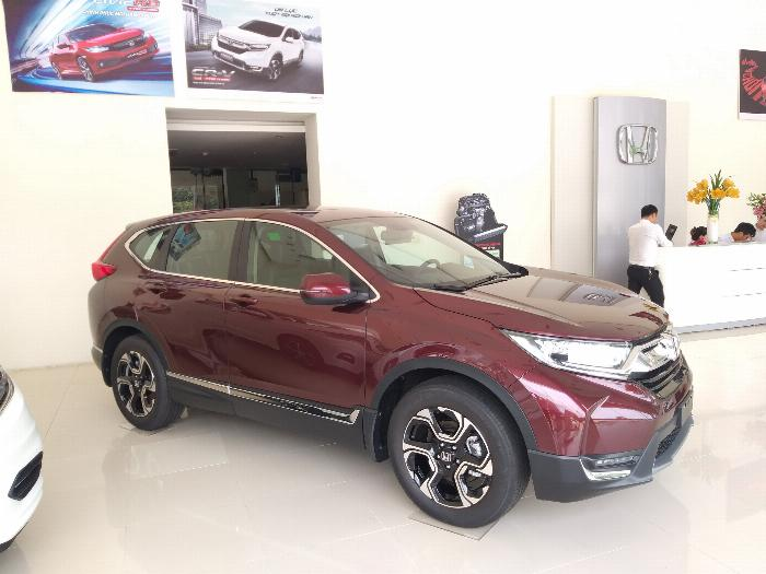 Honda Ôtô Thanh Hóa, Giao Ngay Honda CRV 1.5L, Đời 2019, Màu Đỏ, Giá Cực Sốc, LH: 0962028368 5