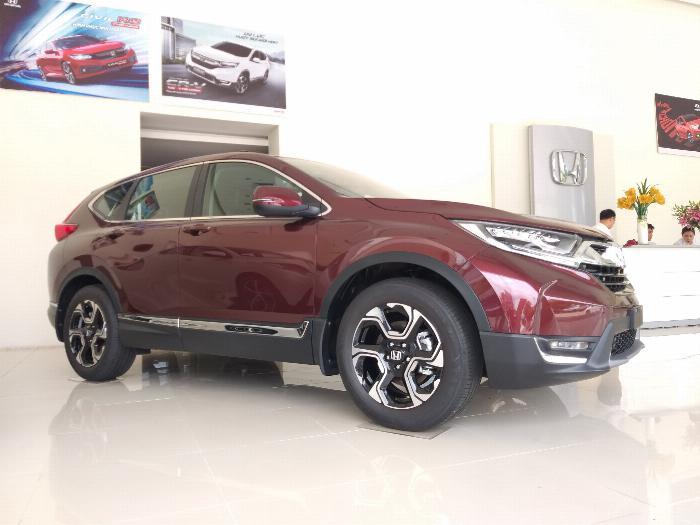 Honda Ôtô Thanh Hóa, Giao Ngay Honda CRV 1.5L, Đời 2019, Màu Đỏ, Giá Cực Sốc, LH: 0962028368 6