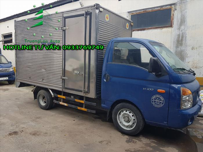 Hyundai H100 sản xuất năm 2011 Số tay (số sàn) Xe tải động cơ Dầu diesel