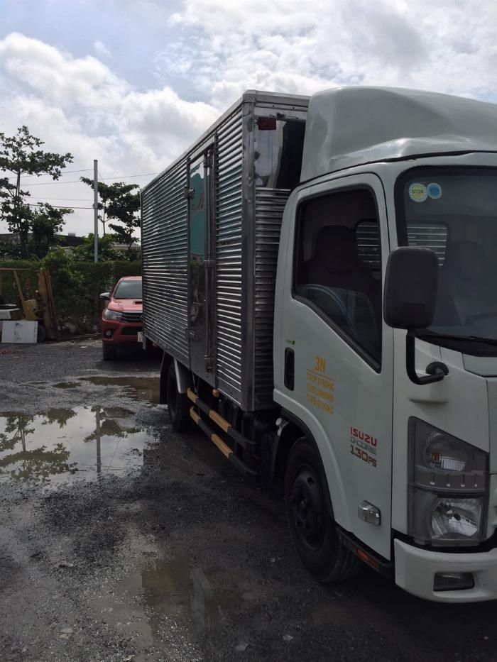 bán isuzu nmr đời 2014 thùng kín tải 1t9 4