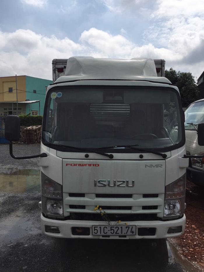 bán isuzu nmr đời 2014 thùng kín tải 1t9 6