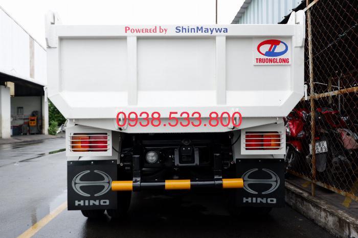 Xe Ben Hino Thùng 4 Khối 8 Vay 80% LS thấp Kèm Ưu Đãi, Ben nâng SHINMAYWA (Nhật Bản), tải 6 tấn, FC9JETC E4 10