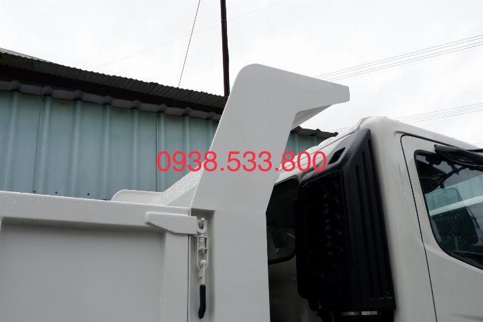 Xe Ben Hino Thùng 4 Khối 8 Vay 80% LS thấp Kèm Ưu Đãi, Ben nâng SHINMAYWA (Nhật Bản), tải 6 tấn, FC9JETC E4 7