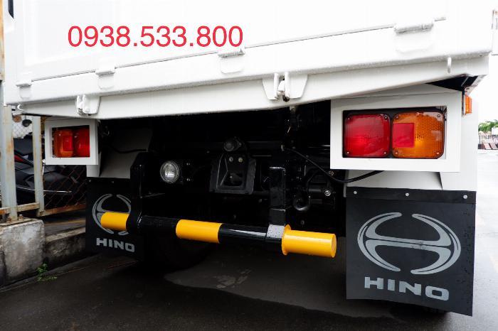 Xe Ben Hino Thùng 4 Khối 8 Vay 80% LS thấp Kèm Ưu Đãi, Ben nâng SHINMAYWA (Nhật Bản), tải 6 tấn, FC9JETC E4 8