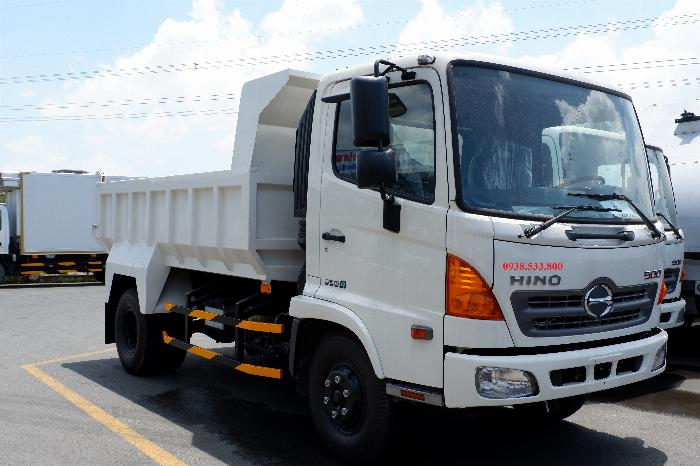 Xe Ben Hino Thùng 4 Khối 8 Vay 80% LS thấp Kèm Ưu Đãi, Ben nâng SHINMAYWA (Nhật Bản), tải 6 tấn, FC9JETC E4 21