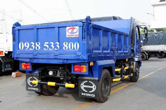 Xe Ben Hino Thùng 4 Khối 8 Vay 80% LS thấp Kèm Ưu Đãi, Ben nâng SHINMAYWA (Nhật Bản), tải 6 tấn, FC9JETC E4 25