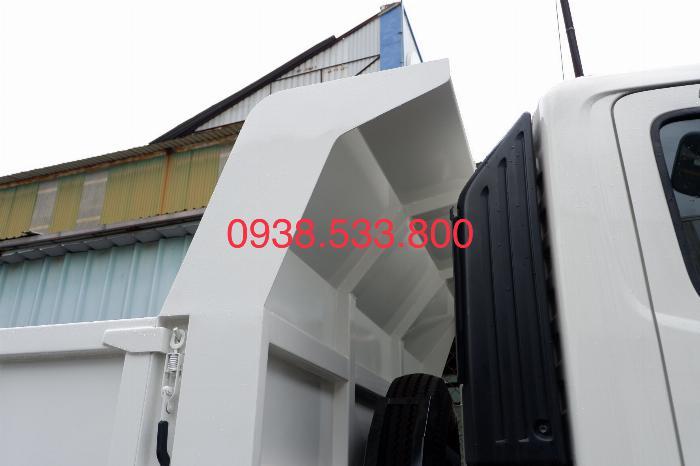 Xe Ben Hino Thùng 4 Khối 8 Vay 80% LS thấp Kèm Ưu Đãi, Ben nâng SHINMAYWA (Nhật Bản), tải 6 tấn, FC9JETC E4 18