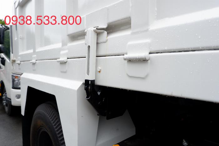 Xe Ben Hino Thùng 4 Khối 8 Vay 80% LS thấp Kèm Ưu Đãi, Ben nâng SHINMAYWA (Nhật Bản), tải 6 tấn, FC9JETC E4 19