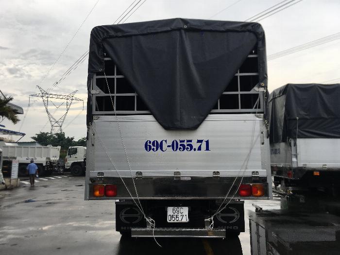 Xe Mui Bạt HINO Phiên Bản Đặc Biệt Kèm Ưu Đãi, Tải Hàng 8.650 Kg, Thùng Dài 7.930, Hino 500 FG8JT7A CN Euro4
