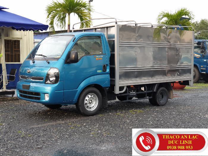 Xe tải KIA K200 đông cơ Hyundai Hàn Quốc. Khuyến mãi 50% lệ phí trước bạ
