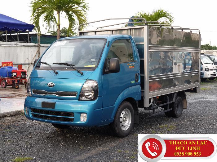 Xe tải KIA K200 đông cơ Hyundai Hàn Quốc. Khuyến mãi 50% lệ phí trước bạ 5