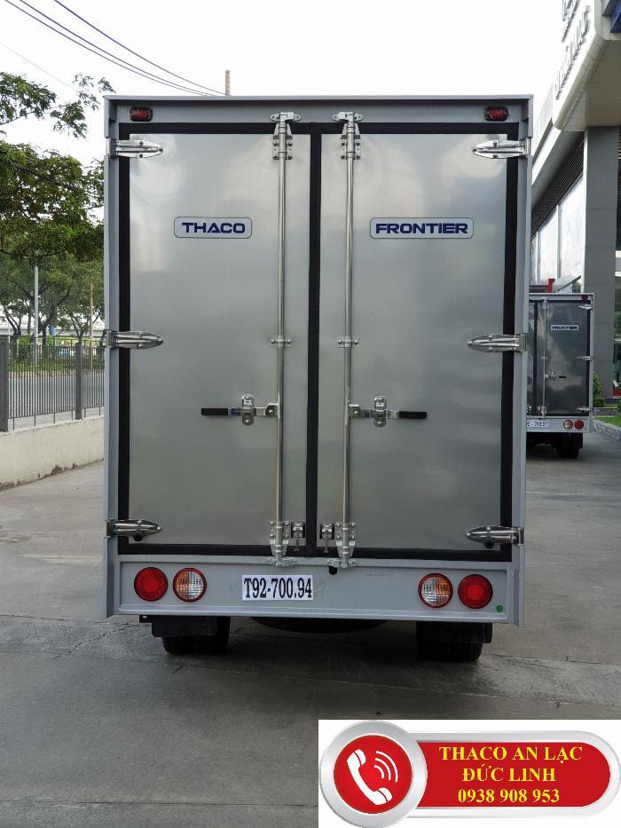 Xe tải KIA K200 thùng dài 3,2m chạy trọng thành phố. Khuyến mãi 50% lệ phí trước bạ 4