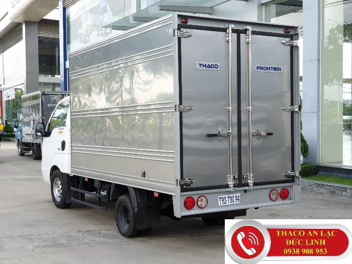 Xe tải KIA K200 thùng dài 3,2m chạy trọng thành phố. Khuyến mãi 50% lệ phí trước bạ 3