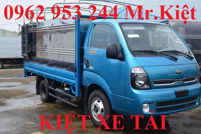 Bán xe K250 tiêu chuẩn EURO 4 tải trọng 2.4T lưu thông thành phố.