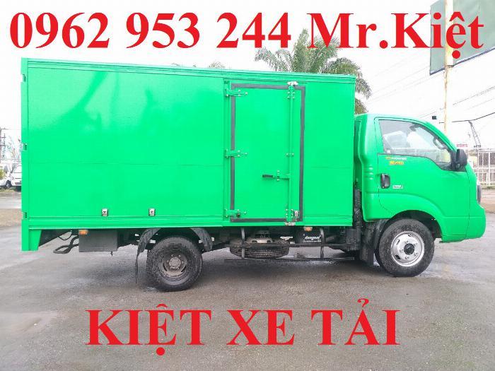 Xe tải thaco KIA K250 thùng kín sơn màu theo yêu cầu đời 2019 hỗ trợ trả góp 80%. 2