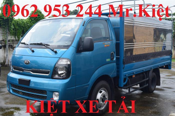Bán xe K250 tiêu chuẩn EURO 4 tải trọng 2.4T lưu thông thành phố. 1