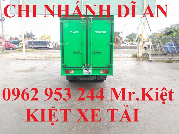Xe tải thaco KIA K250 thùng kín sơn màu theo yêu cầu đời 2019 hỗ trợ trả góp 80%. 4