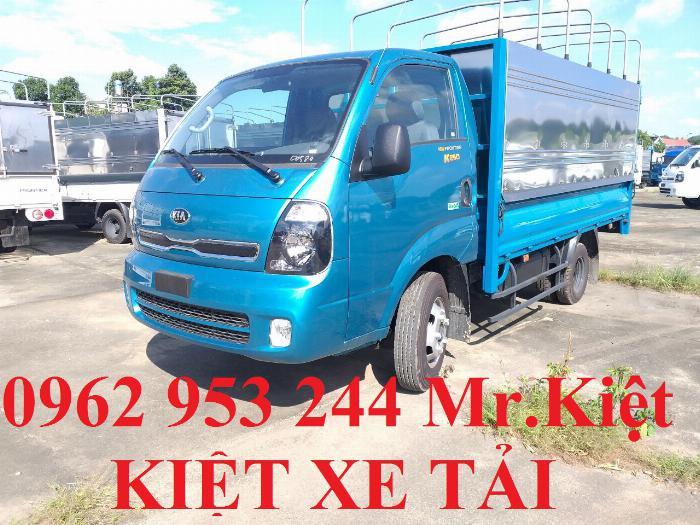 Bán xe K250 tiêu chuẩn EURO 4 tải trọng 2.4T lưu thông thành phố. 3