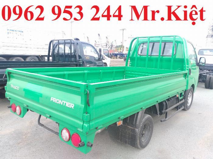 Bán xe K200 tải trọng 1.9T ,động cơ EURO4 máy điện, hỗ trợ trả góp, bảo hành toàn quốc .Tặng 50% phí trước bạ. 4