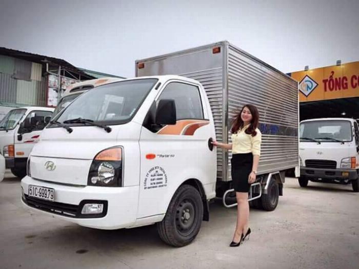 Hyundai Porter H150 2019, 1.5 tấn, khuyến mãi trước bạ