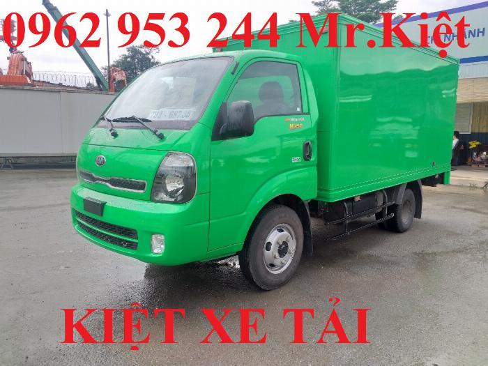 Xe tải thaco KIA K250 thùng kín sơn màu theo yêu cầu đời 2019 hỗ trợ trả góp 80%. 5