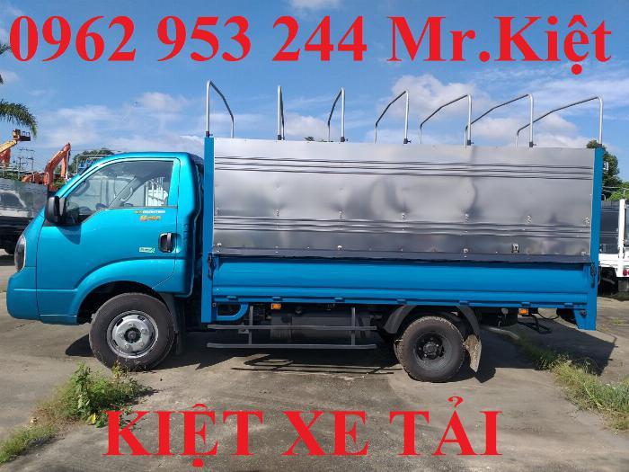 Bán xe K250 tiêu chuẩn EURO 4 tải trọng 2.4T lưu thông thành phố. 5