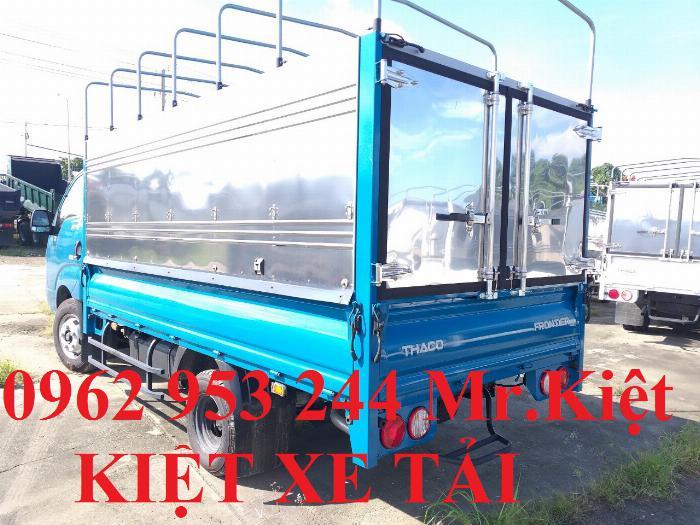 Bán xe K250 tiêu chuẩn EURO 4 tải trọng 2.4T lưu thông thành phố. 6