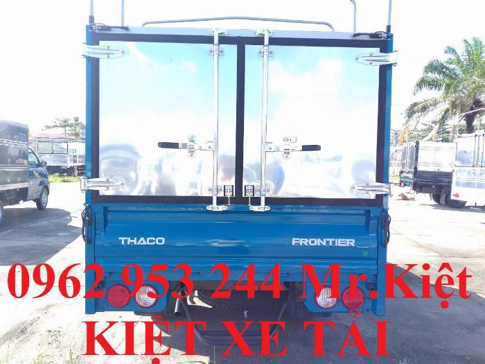Bán xe K250 tiêu chuẩn EURO 4 tải trọng 2.4T lưu thông thành phố. 7