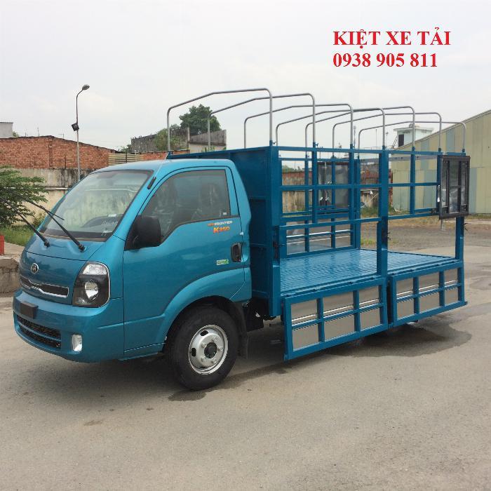 Xe tải thaco KIA K250 động cơ hyundai hỗ trợ trả góp 2019.