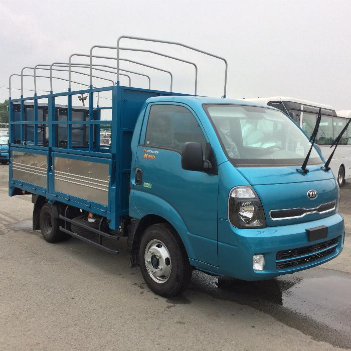 Xe tải thaco KIA K250 động cơ hyundai hỗ trợ trả góp 2019. 2