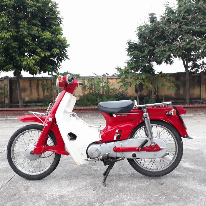 Cub DD Honda Nhật xe nguyên bản biển số Hà Nội 29